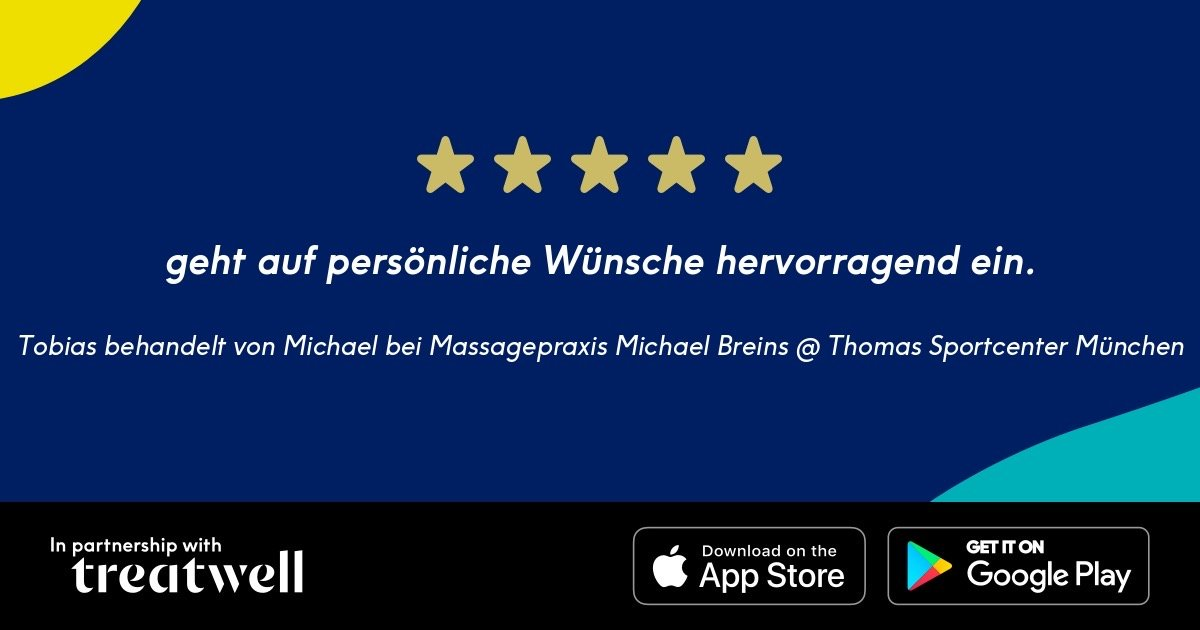 treatwell Bewertung Michael Breins